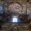 Il Gesù, zwieńczenie ołtarza św. Franciszka Ksawerego w transepcie kościoła