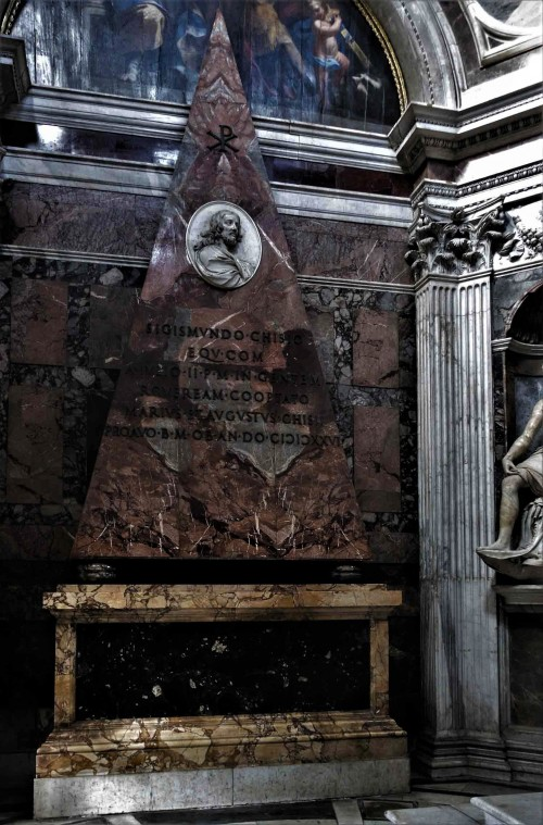 Church of Santa Maria del Popolo, Chigi Chapel - funerary monument of Sigismund Chigi