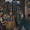 Basilica of Santa Maria del Popolo, Della Rovere Chapel, The Adoration of the Child, Pinturicchio