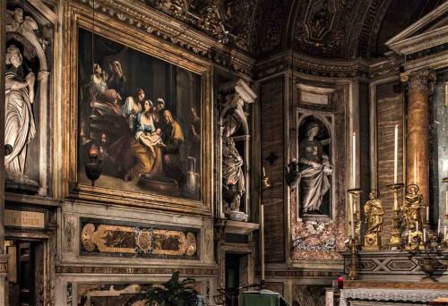 Church of Santa Maria di Loreto, The Birth of the Virgin Mary, Giuseppe Cesari (Cavalier d'Arpino)