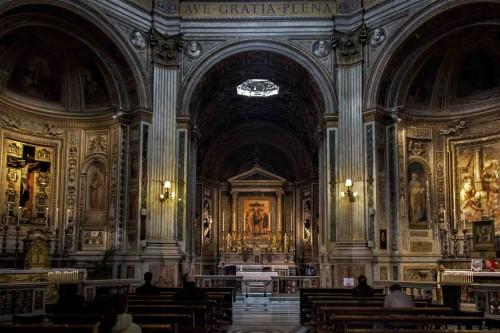 Santa Maria di Loreto, wnętrze