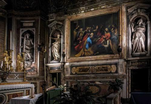 Santa Maria di Loreto, Zaśnięcie Marii, Giuseppe Cesari (Cavalier d'Arpino)