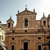 Santa Maria in Aquiro, fasada z XVIII w.