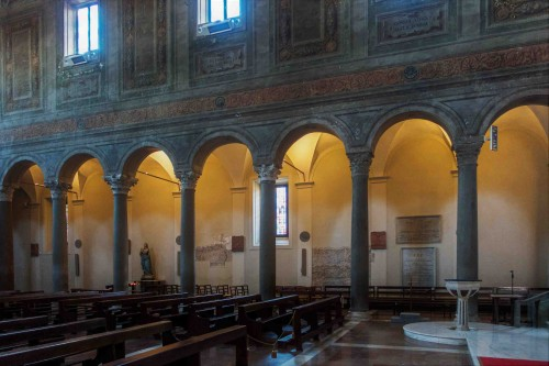Basilica of Santa Maria in Domnica.interior