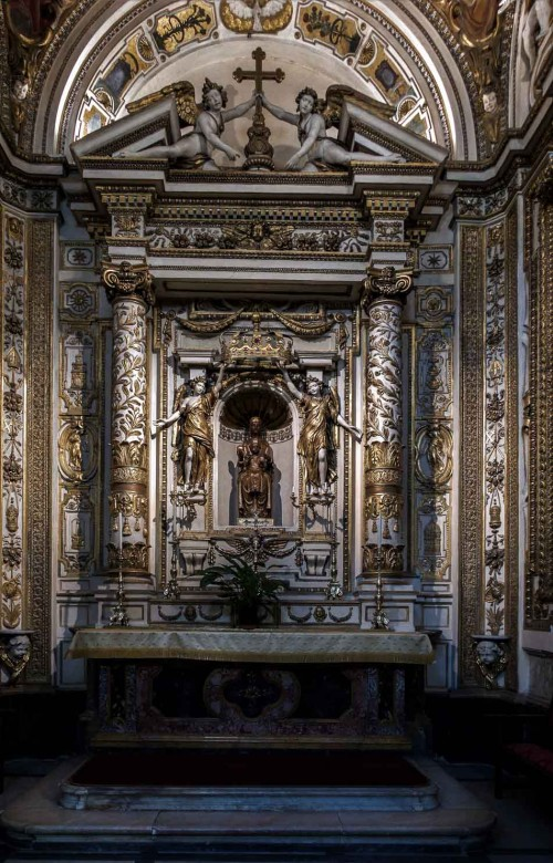 Santa Maria in Monserrato, kaplica Madonny z Montserrat