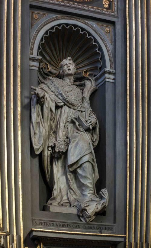 Santa Maria in Monserrato, św. Piotr Arbués, Juan Adan, XIX w.