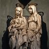 Santa Maria in Monserrato, kaplica św. Anny - grupa Maria z Dzieciątkiem i św. Anną, Tommaso Boscoli