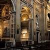Santa Maria in Monserrato, wnętrze kościoła