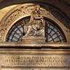 Santa Maria Portae Paradisi, inskrypcja i rzeźba w wejściu do kościoła