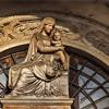 Santa Maria Portae Paradisi, rzeźba w nadprożu, Andrea Sansovino