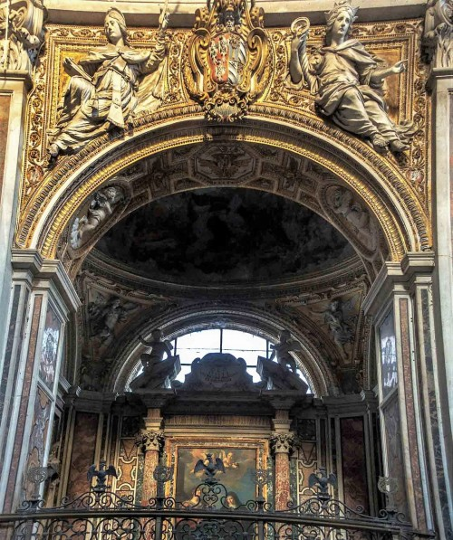 Church of San Nicola da Tolentino, Lante della Rovere Chapel