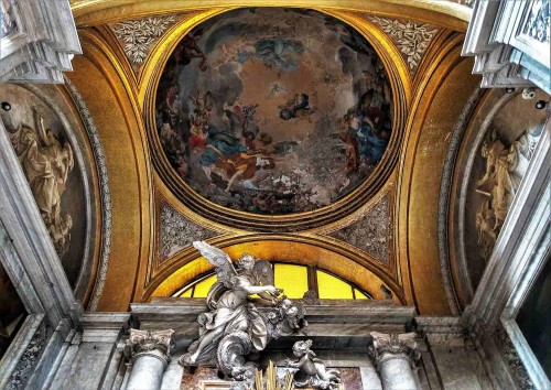 San Nicola da Tolentino, kopuła kaplicy Najświętszej Marii Dobrej Rady