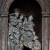 Church of San Nicola da Tolentino, Alessandro Algardi, main altar, sculptures - Ercole Ferrata and Domenico Guidi