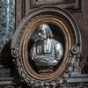 Church of San Nicola da Tolentino, Gavotti Chapel, bust of Cardinal Giovanni Battista Gavotti, Cosimo Fancelli