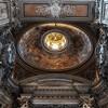 Church of San Nicola da Tolentino, dome of the Gavotti Chapel, design – Pietro da Cortona, completed by Ciro Ferri