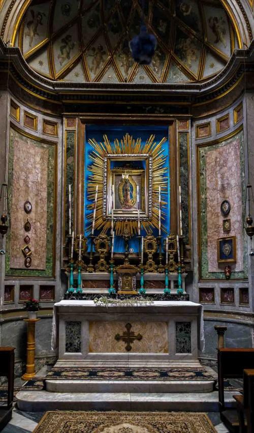 San Nicola in Carcere, kaplica NMP z Guadelupe