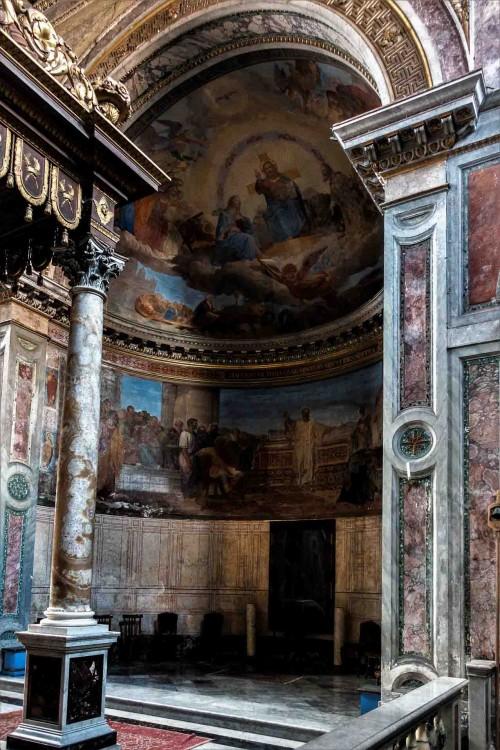 San Nicola in Carcere, widok absydy