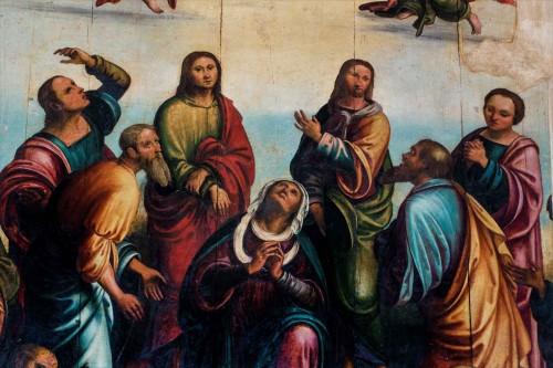 San Nicola in Carcere, Zmartwychwstanie Chrystusa, fragment, warsztat Lorenzo Costy