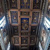 San Nicola in Carcere, drewniany strop z XIX w.