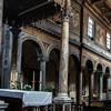 San Nicola in Carcere, widok nawy bocznej