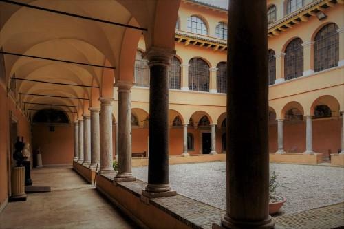 Drugi wirydarz dawnego klasztoru franciszkanów przy kościele San Pietro in Montorio