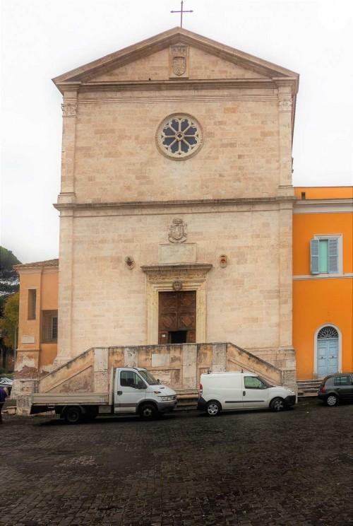 Façade of the Church of San Pietro in Montorio