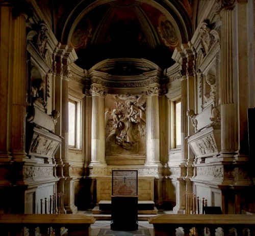 Kaplica Raimondi w kościele San Pietro in Montorio, proj. Gian Lorenzo Bernini