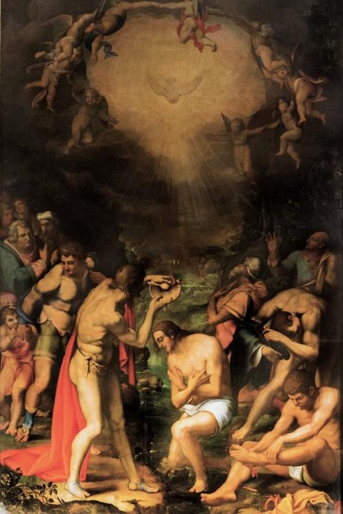 San Pietro in Montorio, Chrzest Chrystusa, Daniele da Volterra, kaplica Ricci