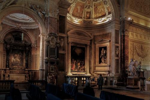San Pietro in Montorio, lewa nawa