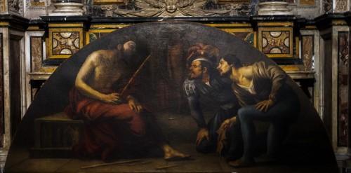 San Pietro in Montorio, Naigrywanie, prawdopodobnie David de Haen, kaplica Piety