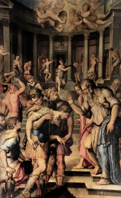 San Pietro in Montorio, Nawrócenie św. Pawła, Giorgio Vasari, kaplica del Monte