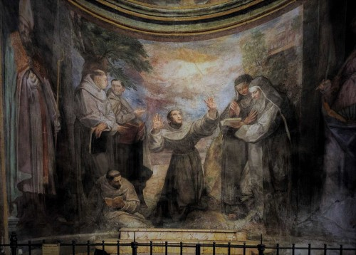 San Pietro in Montorio, Stygmatyzacja św. Franciszka, Giovanni de Vecchia