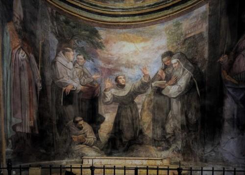 Church of San Pietro in Montorio, St. Francis Receiving the Stigmata, Giovanni de Vecchia