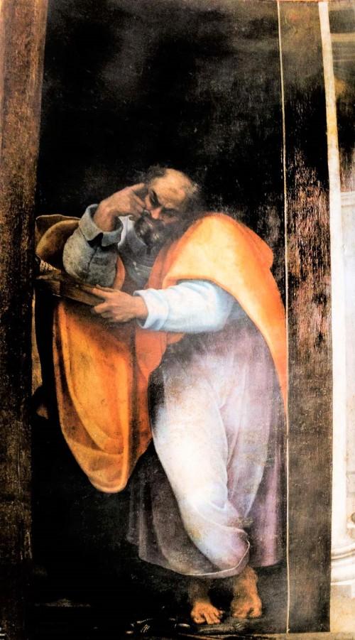 San Pietro in Montorio, św. Piotr z kaplicy Borgherini