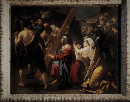 San Pietro in Montorio, Upadek pod krzyżem, Dirck van Baburen, kaplica Piety