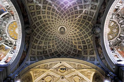 Vault of the transept of the Church of San Pietro in Montorio