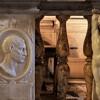 San Pietro in Montorio, balustrada kaplicy del Monte, putta i portrety członków rodu del Monte, Bartolomeo Ammannati