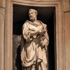 Church of San Pietro in Montorio, statue of St. Peter,  Ricci Chapel