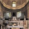 San Pietro in Montorio, prezbiterium, w tle Ukrzyżowanie św. Piotra - Guido Reni (kopia)