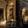San Pietro in Montorio, widok od strony absydy (prawa nawa)