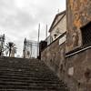 Schody prowadzące od kościoła San Pietro in Montorio