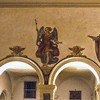 Santa Prisca, malowidła nadarkadowe