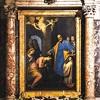 Santa Prisca, ołtarz główny, Passignano, Św. Piotr chrzci Pryskę