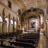 Santa Prisca, widok nawy głównej i bocznej
