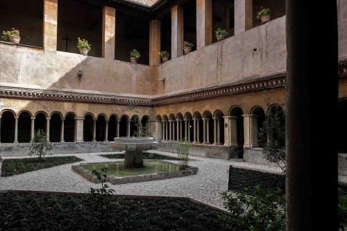 Basilica of Santi Quattro Coronati, cloisters