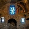 Santi Quattro Coronati, kaplica Santa Barbara, freski ukazujące historię św. Barbary