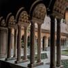 Basilica of Santi Quattro Coronati, Benedictine cloisters from the XIII century