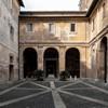 Basilica of Santi Quattro Coronati, first courtyard – atrium of the original church