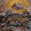 Basilica of Santi Quattro Coronati, top of the apse, The Glory of Heaven