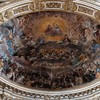 Santi Quattro Coronati, zwieńczenie absydy, Niebiańska Gloria wszystkich świętych, Giovanni Mannozzi
